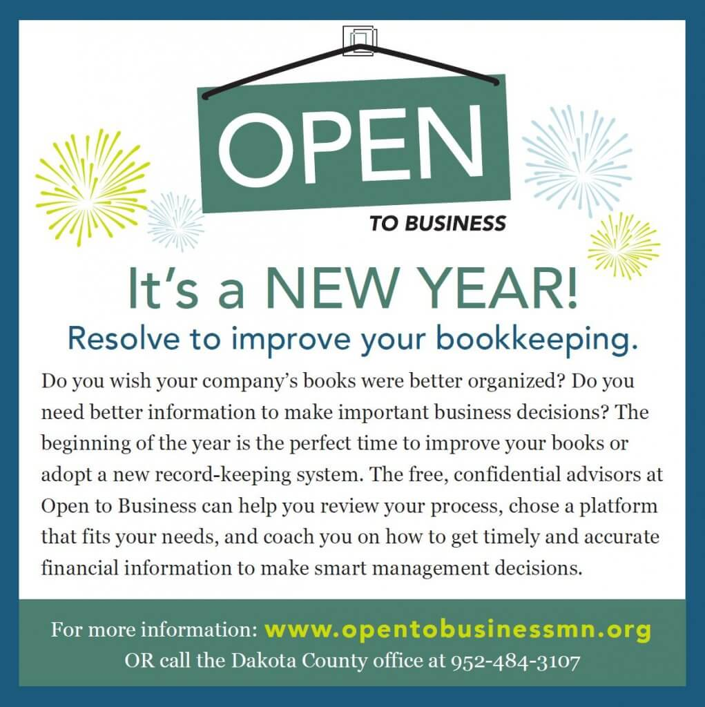 Open To Business New Year Ad 2018