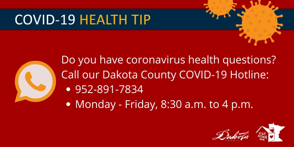 Dakota County COVID-19 Hotline
